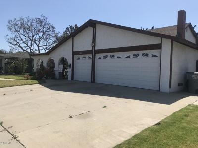 Oxnard Single Family Home For Sale: 2011 Norma Street