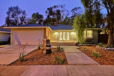 Ventura Single Family Home For Sale: 2581 Poli Street