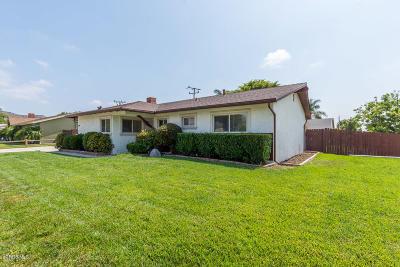 Newbury Park Single Family Home For Sale: 494 Dorena Drive