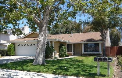 Camarillo Rental Active Under Contract: 5287 Lynnwood Drive
