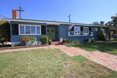 Santa Paula Single Family Home Active Under Contract: 120 Eliot Street