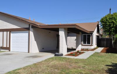 Santa Paula Single Family Home Active Under Contract: 565 W Santa Barbara Street