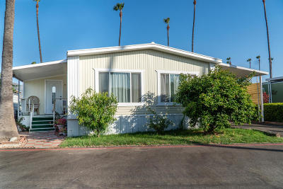 Santa Paula  Mobile Home Active Under Contract: 265 Beckwith #55