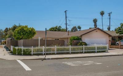 Ventura Single Family Home For Sale: 1493 Arrowhead Avenue