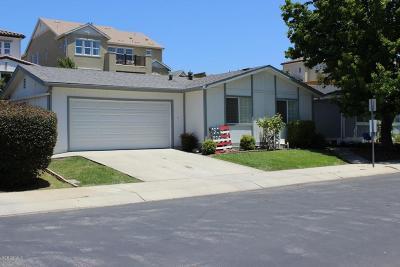 Ventura Single Family Home For Sale: 237 Pomo Street
