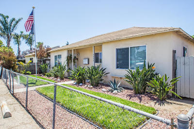 Oxnard Multi Family Home For Sale: 1533 Cypress Street