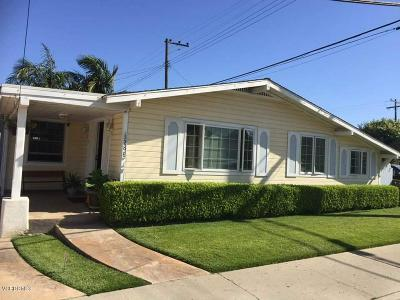 Santa Paula Single Family Home Active Under Contract: 128 E Santa Paula Street