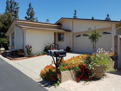 Ventura Single Family Home For Sale: 1220 Johnson Drive #126
