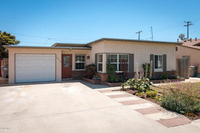 Oxnard Single Family Home Active Under Contract: 344 W Cedar Street