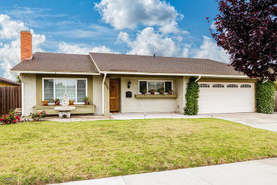 Oxnard Single Family Home Active Under Contract: 1520 Patricia Street
