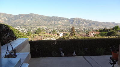 Santa Paula Single Family Home For Sale: 960 Vista Pointe Place