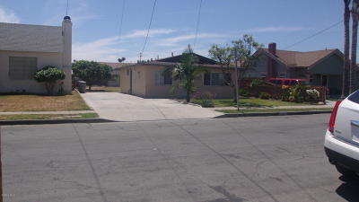 Santa Paula Single Family Home For Sale: 208 S 4th Street