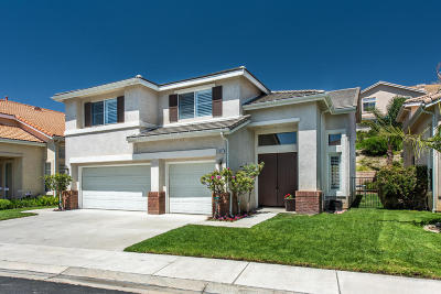 Simi Valley Single Family Home For Sale: 3084 Obsidian Court