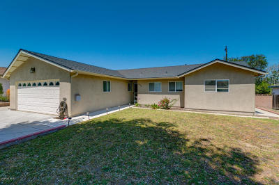 Ventura Single Family Home For Sale: 376 Plumas Avenue