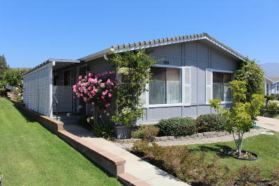 Santa Paula Single Family Home Active Under Contract: 975 W Telegraph Road #102
