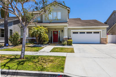 Oxnard Single Family Home Active Under Contract: 722 Teresa Street