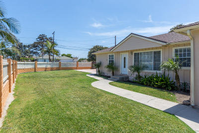 Oxnard Single Family Home For Sale: 2970 Cortez Street