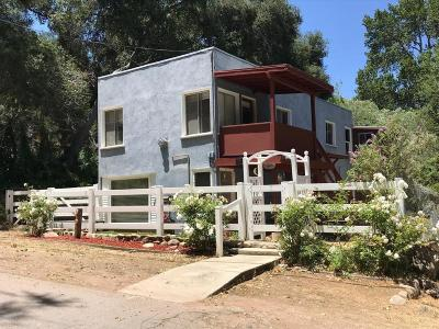Ventura Single Family Home For Sale: 7915 Camp Chaffee Road