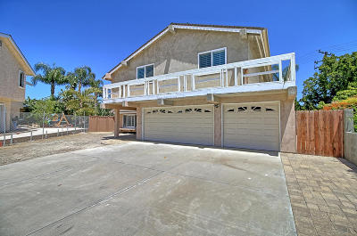 Ventura Single Family Home Active Under Contract: 10682 Orange Circle