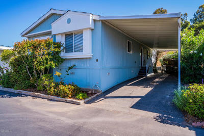 Ojai Mobile Home Active Under Contract: 1975 Maricopa Highway #8