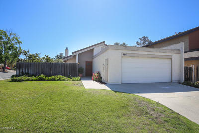 Newbury Park Single Family Home Active Under Contract: 684 Paseo Montecito