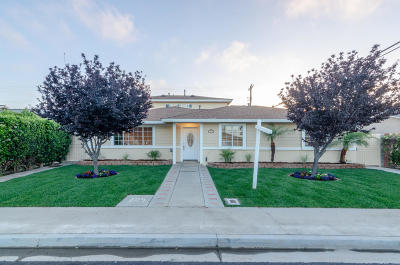 Oxnard Single Family Home For Sale: 3015 Monterey Street