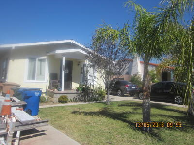 Fillmore Multi Family Home Active Under Contract: 411 Mountain View Street