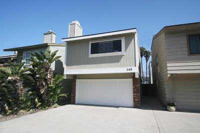 Oxnard Single Family Home For Sale: 345 Rossmore Drive