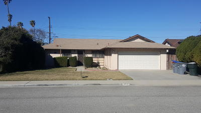 Oxnard Single Family Home Active Under Contract: 4931 S G Street