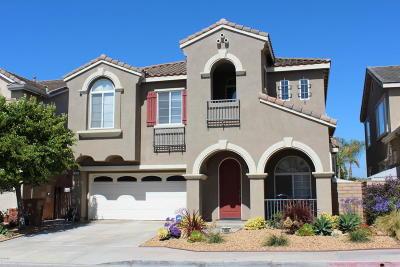 ventura Single Family Home For Sale: 1804 S Hill Road