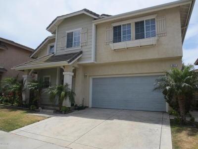 Oxnard Single Family Home For Sale: 802 Calle Mar Vista