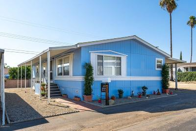 Santa Paula Mobile Home For Sale: 1500 Richmond Road #6