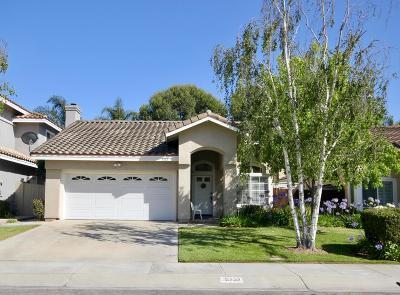 Camarillo Single Family Home For Sale: 5232 Buena Mesa Court