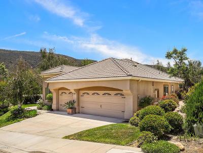 Thousand Oaks CA Single Family Home For Sale: $1,099,000