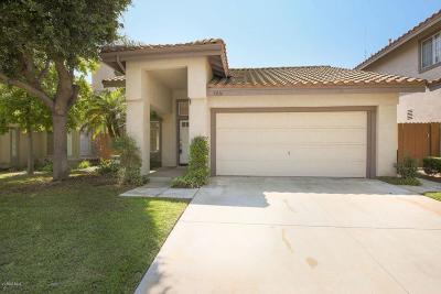 Camarillo Single Family Home For Sale: 5016 Ladera Vista Drive