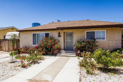Oxnard Single Family Home For Sale: 349 Occidental Drive