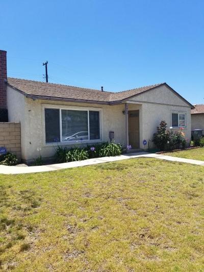 Oxnard Single Family Home For Sale: 1410 W Iris Street