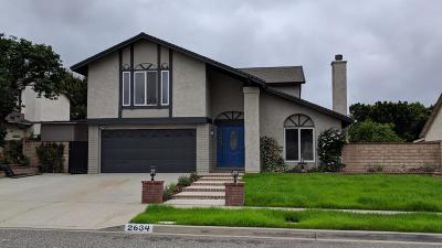 Simi Valley Single Family Home For Sale: 2634 Trenley Court