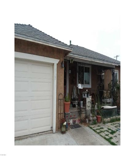 Oxnard Single Family Home Active Under Contract: 1813 S D Street