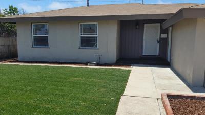 Oxnard Single Family Home For Sale: 845 Saratoga Street