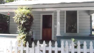 Santa Barbara Single Family Home For Sale: 710 De La Vina Street