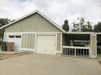Camarillo Single Family Home For Sale: 640 Hacienda Drive