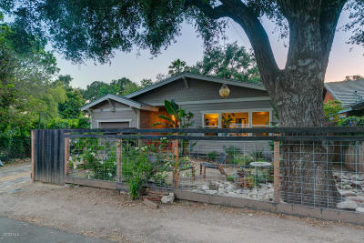 Ojai Single Family Home For Sale: 127 S Encinal Avenue