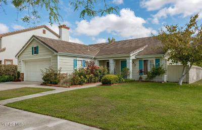 Oxnard Single Family Home For Sale: 1521 Gabriella Drive
