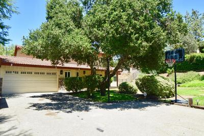 Agoura Hills Single Family Home Active Under Contract: 4944 Vejar Drive