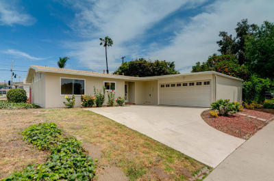 Ventura Single Family Home Active Under Contract: 4501 Varsity Street