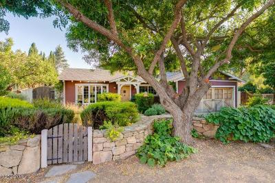 Oak View Single Family Home For Sale: 172 Grapevine Road