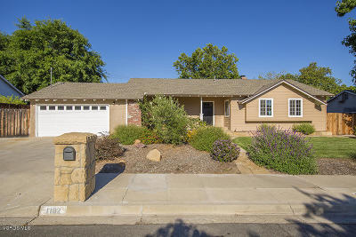 Ojai Single Family Home For Sale: 1102 Sunset Place