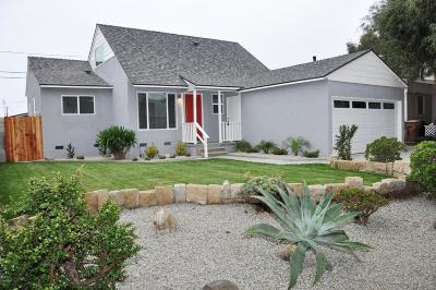 Ventura Single Family Home For Sale: 3232 Preble Avenue