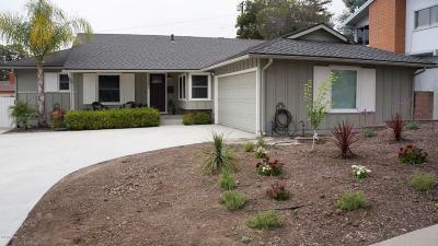 Ventura Single Family Home For Sale: 389 Dos Caminos Avenue